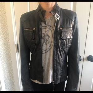 Bod Christensen Leather Moto jacket